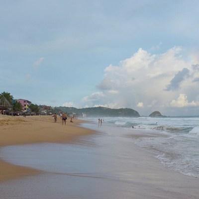 Playas de Oaxaca son aptas para uso recreativo en Semana Santa