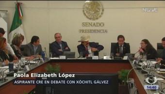 Foto: Polémicos aspirantes a CRE comparecen otra vez ante senadores