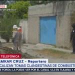 Foto: Policía Federal catea domicilio donde detectaron toma clandestina en Tultitlán