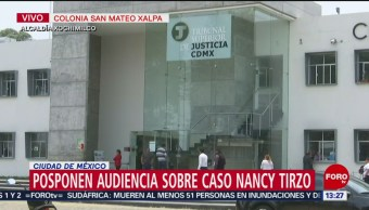 FOTO: Posponen primera audiencia a pareja acusada de robar a bebé Nancy Tirzo