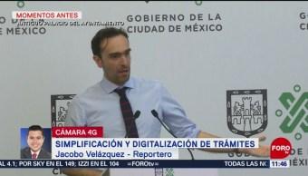 Presentan programa para simplificar y digitalizar trámites en la CDMX