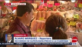 Foto: Profeco realiza recorrido de supervisión en la Nueva Viga