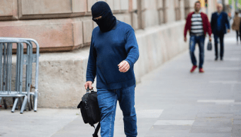 Foto: Profesor Joaquim Benítez, acusado de abuso sexual, 29 de abril de 2019, Barcelona
