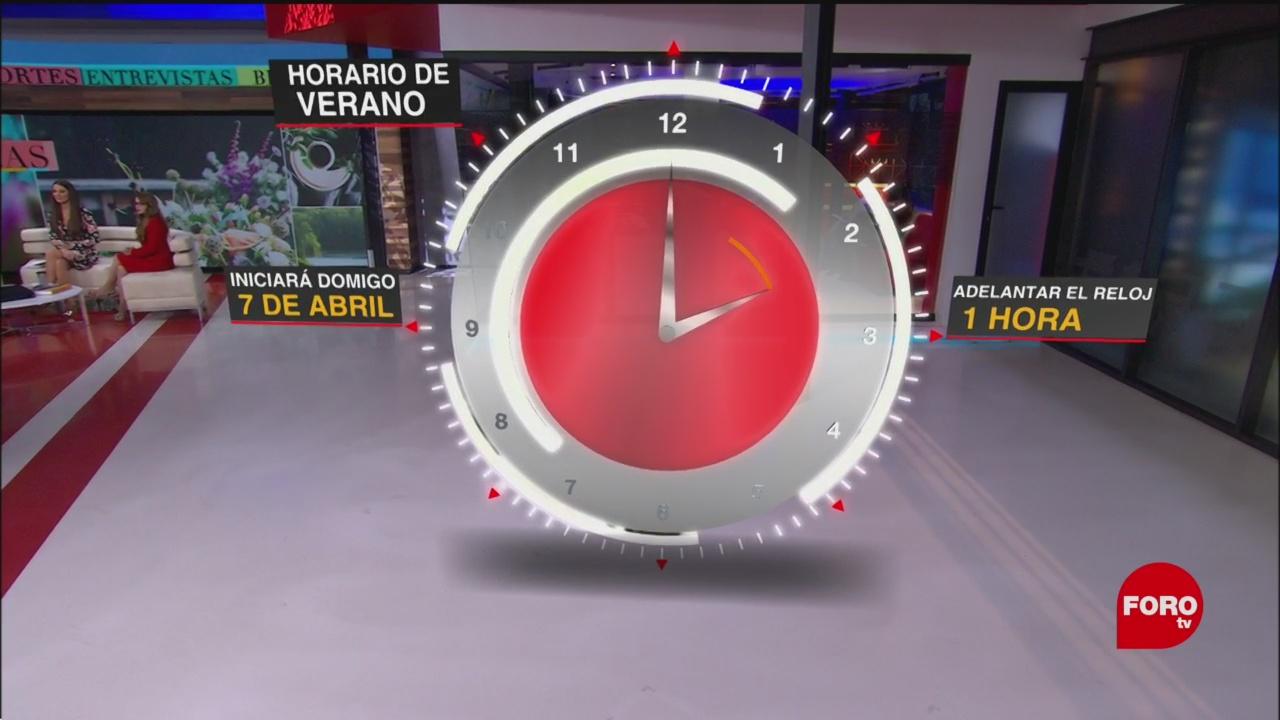 dde020cf046f Próximo 7 de abril inicia el Horario de Verano en México