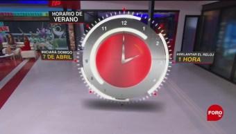 Próximo 7 de abril inicia el Horario de Verano en México