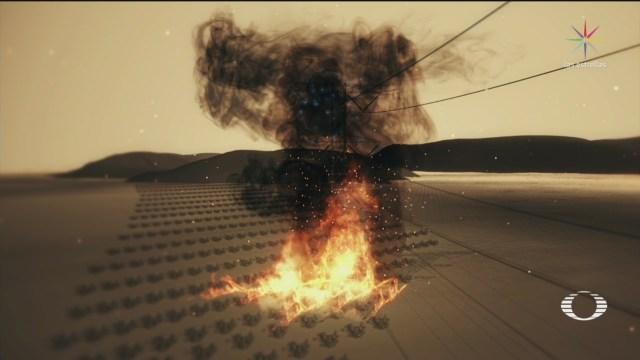 Foto: Quema de caña provoca nuevo apagón en Península de Yucatán