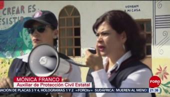 FOTO:Realizan simulacro de evacuación en San Mateo Ozolco, Puebla, 24 ABRIL 2019