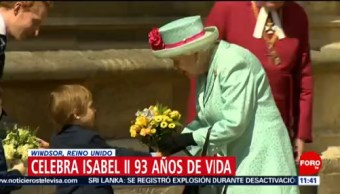 Reina Isabel II celebra su cumpleaños número 93