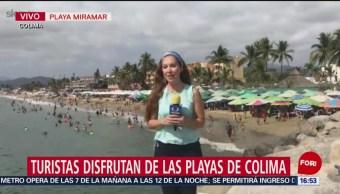 FOTO: Reportan 98% de ocupación hotelera en Colima, 19 ABRIL 2019