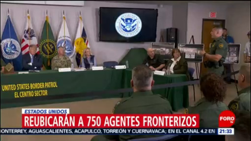 FOTO:Reubicarán a 750 agentes fronterizos en Estados Unidos, 6 de abril 2019