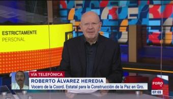 Roberto Álvarez: Grupos delictivos, posibles autores de ataque en Xaltianguis, Guerrero