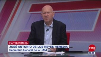 Se analizan propuestas del sindicato de la UAM, dice Reyes Heredia