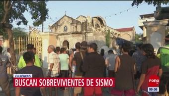 Se registra nuevo sismo en Filipinas