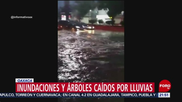 Foto: Lluvias Oaxaca Hoy Inundaciones 8 de Abril 2019