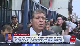 Se suicida el expresidente peruano Alan García