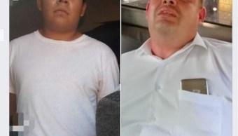 Detienen a dos presuntos secuestradores en Minatitlán Veracruz y rescatan a dos familias