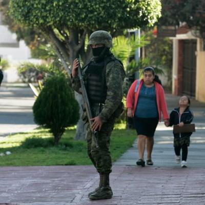 Baja cifra de delitos en Jalisco, asegura Sedena