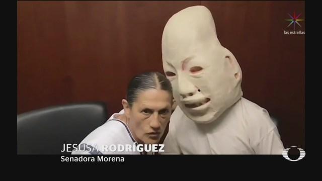 Foto: Jesusa Rodríguez Platica Dios Del Maíz 25 de Abril 2019