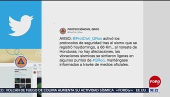 FOTO:Sismo en Honduras se sintió en Quintana Roo, 27 ABRIL 2019