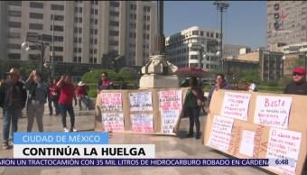 Situam protesta en explanada de Bellas Artes