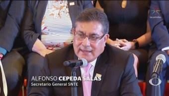 Foto: Snte Reitera Apoyo Reforma Educativa 26 de Abril 2019