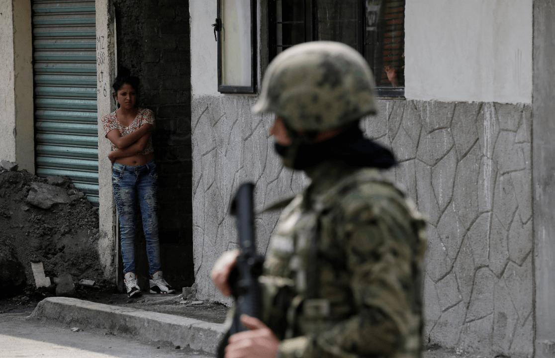 Foto: Soldados en México, 20 de julio del 2017, Ciudad de México.