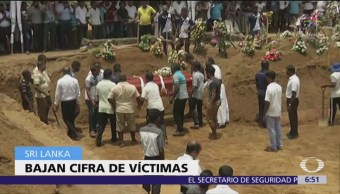 Sri Lanka reduce cifra de muertos por atentados de Semana Santa