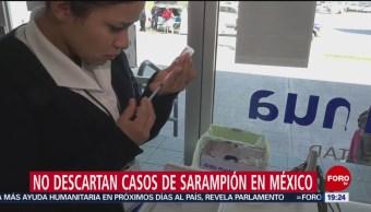 Foto: Secretaria Salud No Descarta Sarampión México 16 de Abril 2019