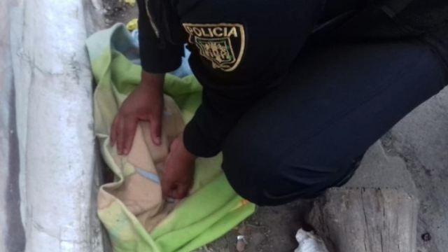 Foto: Abandonan a recién nacida en la colonia Morelos, 21 abril 2019