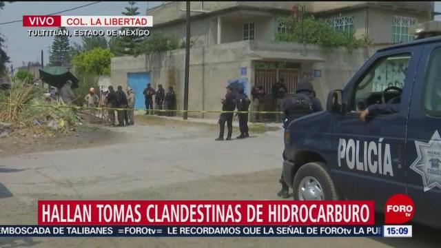Foto: Tomas clandestinas en ducto Tula-Azcapotzalco