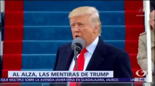 Trump ha hecho 10 mil declaraciones falsas o engañosas como presidente
