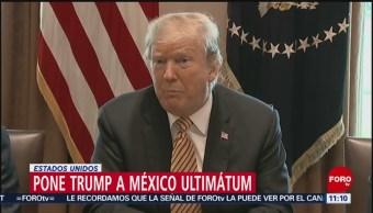 Trump suspende planes para cerrar frontera con México