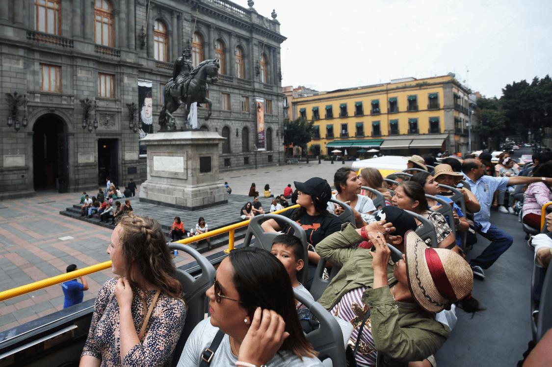 Foto: Turistas en la Ciudad de México, 3 de agosto de 2017, México