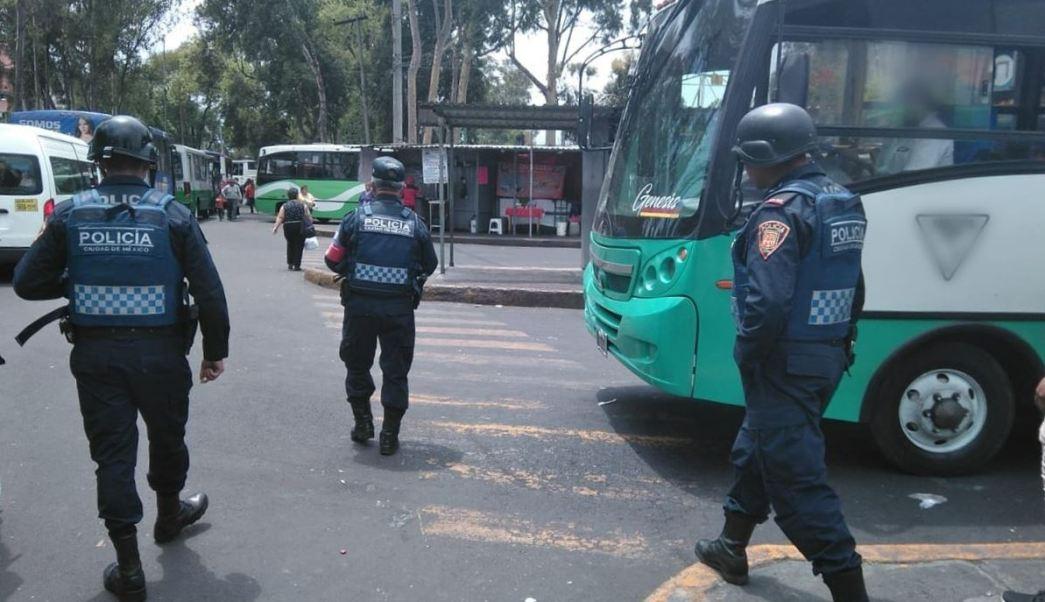 Foto: El operativo de seguridad se desplegará en distintos puntos de la Ciudad de México, el 13 de abril de 2019 (Twitter @SSP_CDMX)