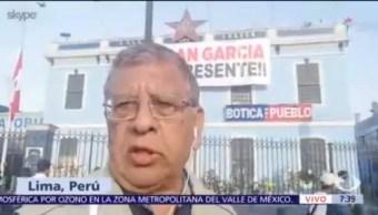 FOTO: Velan al expresidente peruano Alan García, 18 abril 2019