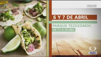 Foto: Verbena Gastronómica Alcaldía Azcapotzalco Parque Tezozomoc 5 de Abril 2019