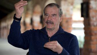 Foto: El expresidente de México, Vicente Fox Quesada, denunció que la mañana de este sábado supuestamente un comando armado intentó ingresar a su casa, abril 6 de 2019 (Twitter @VicenteFoxQue)