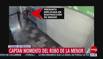 Foto: Video Robo Bebé Nancy Tirzo Sánchez Cdmx 17 de Abril 2019