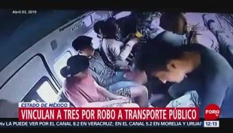 Vinculan a proceso a tres personas por robo en Ecatepec