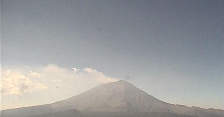 Foto Volcán Popocatépetl registra 16 exhalaciones en las últimas 24 horas 3 abril 2019