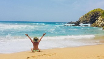 Vacaciones al desnudo en Zipolite
