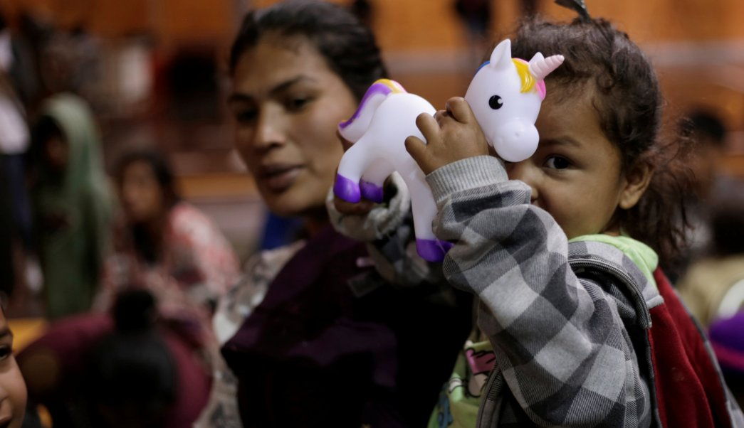 Muere niña guatemalteca en custodia de autoridades migratorias de México