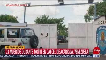 FOTO: 23 muertos en motín en cárcel de Venezuela, 24 MAYO 2019
