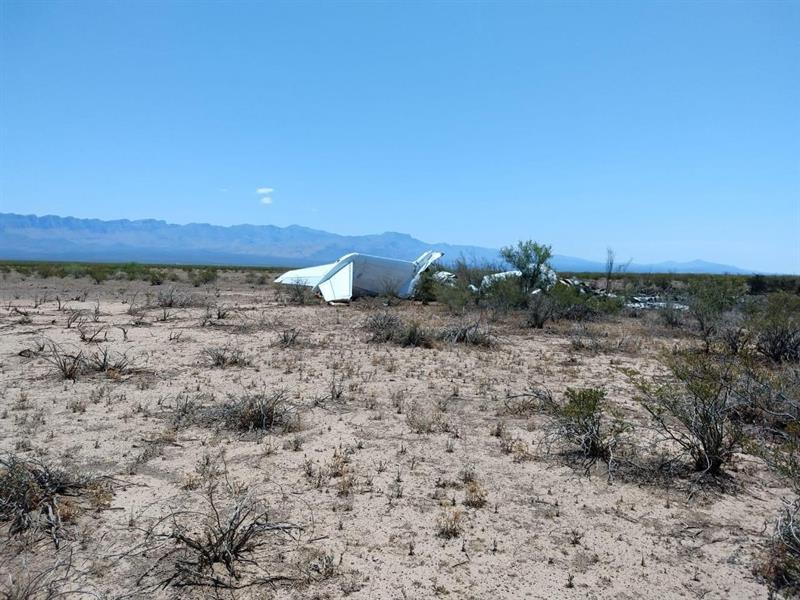 Coahuila: Concluye rescate de restos de las 13 víctimas del avión que cayó en Ocampo