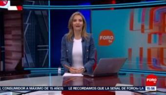 Foto: A Las Tres Ana Paula Ordorica 17 Mayo 2019