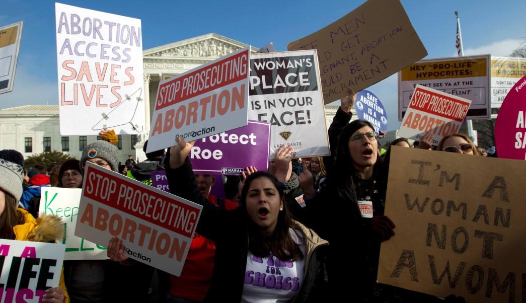 FOTO Qué pasa con el aborto en Estados Unidos (AP washington 18 enero 2019)