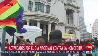 Foto: Actividades Día Homofobia CDMX 17 Mayo 2019