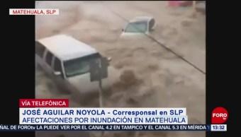 FOTO: Afectaciones por inundación en Matehuala, San Luis Potosí
