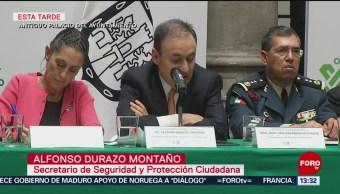 Alfonso Durazo presenta modelo de la Guardia Nacional