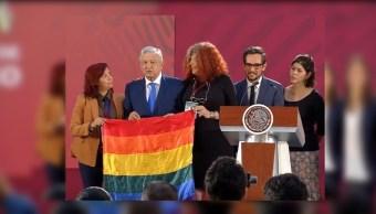 Foto: AMLO decreta el Día Nacional de la Lucha contra la Homofobia, Lesbofobia, Transfobia y Bifobia, 17 mayo 2019